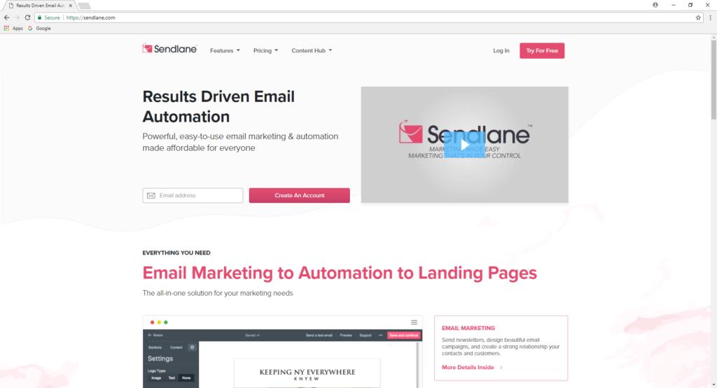 SendLane Email Automation